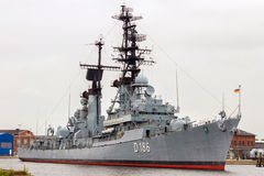 D186 Mölders Guided Missile Destroyer Royalty Free Stock Photo