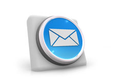 3d mail icon. 3d render of mail icon Royalty Free Stock Photography