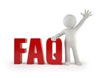 3d mali ludzie - FAQ Zdjęcia Stock