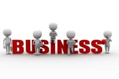 3d Man Business Royalty Free Stock Photos