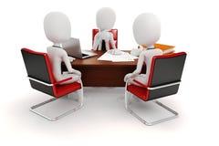 3d man businessman. Business scene Stock Image