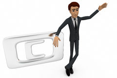 3d man with copyright symbol concepr Stock Images