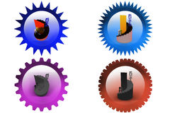 3d man education growth icon Royalty Free Stock Photo