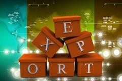 3d man export illustration Stock Photos