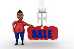 3d man sale Stock Images