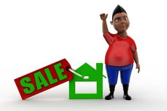 3d man sale Royalty Free Stock Images