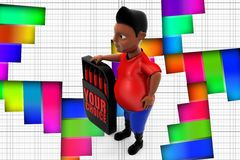 3d Man Your Choice Stock Images