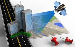 3d map Stock Photos
