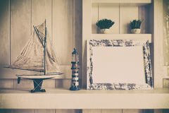 3d - maritime decoration - shot 03 Royalty Free Stock Photo