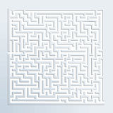 3d maze Stock Photos