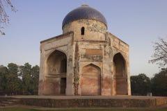 Dôme bleu - tombe de Subz Burj (Burj Neala) Humayun.  Rendez-vous Image stock