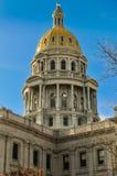Dôme capital de bâtiment du Colorado Photos libres de droits