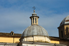 Dôme chez Piazza del Popolo Images stock