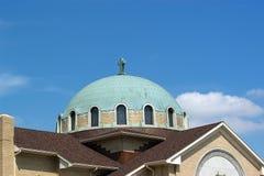 Dôme d'église Image libre de droits