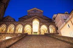 Dôme d'Amalfi, Italie Photos libres de droits