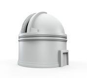 Dôme d'observatoire illustration stock