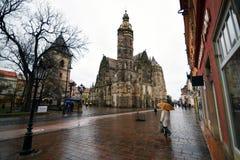 Dôme dans la ville de la Slovaquie Photo libre de droits