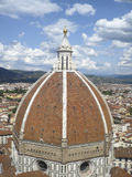 Dôme de Brunelleschi, Florence, Italie Photo libre de droits