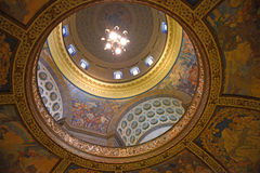 Dôme de capitol d'état du Missouri Images stock