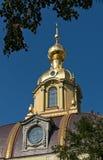 Dôme de cathédrale de Peter et de Paul à St Petersburg Photos libres de droits