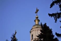 Dôme de l'église Images libres de droits