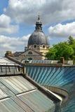 Dôme de l'église du coeur impeccable de Mary, Londres Photos libres de droits