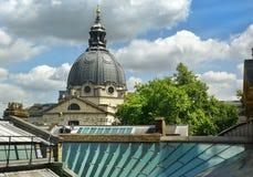 Dôme de l'église du coeur impeccable de Mary, Londres Photos stock