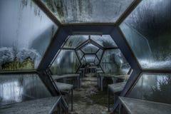 Dôme de l'espace : Humains dans l'espace Photo libre de droits