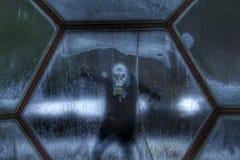 Dôme de l'espace : Humains dans l'espace Image libre de droits