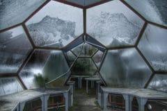 Dôme de l'espace : Humains dans l'espace Photographie stock