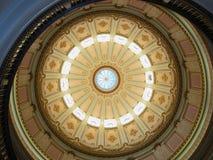 Dôme de la capitale de l'État de la Californie Images libres de droits