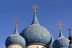 Dôme de la cathédrale de nativité Photographie stock