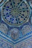 Dôme de la mosquée, ornements orientaux, Boukhara, l'Ouzbékistan Image stock