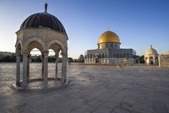 Dôme de la roche à Jérusalem photos stock