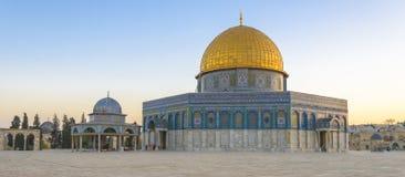 Dôme de la roche à Jérusalem images libres de droits