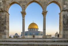 Dôme de la roche à Jérusalem photo libre de droits