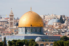 Dôme de la roche - Jérusalem Image stock