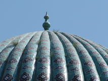 Dôme de madrasa Image libre de droits