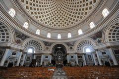 Dôme de Mosta Photographie stock libre de droits