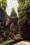 D?me de nuage aux jardins par la baie photographie stock libre de droits