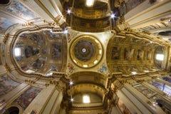 Dôme de Sant Andrea della Valle Photos stock