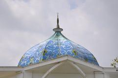 Dôme de Sultan Ismail Airport Mosque - aéroport de Senai Photos libres de droits