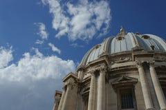 Dôme de Vatican Image libre de droits