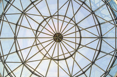 Dôme de vitrail Images stock