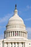 Dôme du bâtiment de capitol des USA Image libre de droits