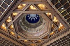 Dôme en bleu et bronze photographie stock libre de droits