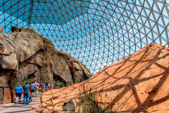 Dôme Henry Doorly Zoo de désert Photos libres de droits