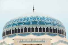 Dôme islamique de mosquée à Amman, Jordanie Images stock