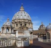 Dôme, ` s, Vatican, Rome, Italie de St Peter Photo stock