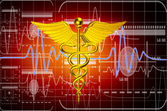 3d medical logo Stock Photos